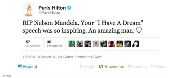 Paris-Hilton-tweet